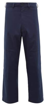 Jacquemus Peintre Chino Trousers - Mens - Navy