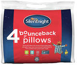 Silentnight Pair of 2 with 2 Free Bounce Back Pillows