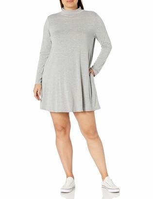 Forever 21 Women's Plus Size Mock Neck Swing Dress