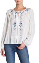 Parker Embroidered Peasant Blouse