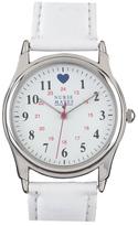 Nurse Mates Women's Military Style Heart Watch