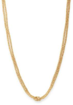 """Bloomingdale's 14K Yellow & White Gold Mesh Chain Choker Necklace, 17"""" - 100% Exclusive"""