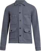 Denis Colomb Gaucho cashmere knitted jacket