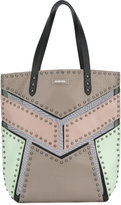 Diesel studded tote - women - Leather/Nylon/metal - One Size