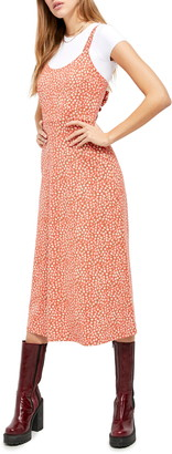Free People Lorelai Daisy Print Tie Back Sundress