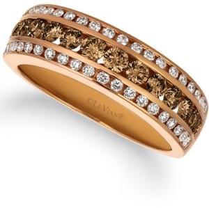 LeVian Le Vian Multi-Color Diamond Ring (7/8 ct. t.w.) in 14k Rose Gold
