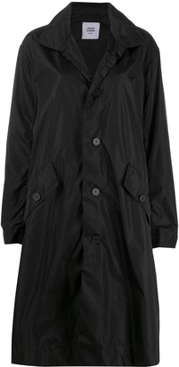 Opening Ceremony Box Logo Buttoned Trench Coat