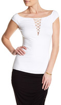 Bailey 44 Lace Up Shirt