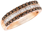 Thumbnail for your product : LeVian Chocolatier 14K Rose Gold 0.77 Ct. Tw. Brown & White Diamond Ring