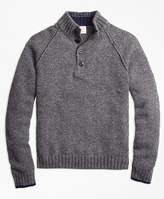 Brooks Brothers Wool Mockneck Sweater