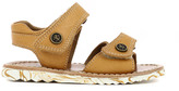 Pom D'Api Easy Waff Velcro Leather Sandals
