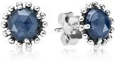 Pandora Stud Earrings - Sterling Silver & Cubic Zirconia Midnight Star