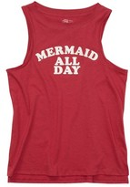 Billabong Girl's Mermaid All Day Muscle Tee