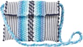 ANTONELLO Suni Chelu Striped Clutch