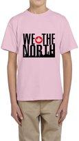Hera-Boom Youth's Raptors Basketball WE THE NORTH Skyline T-shirts