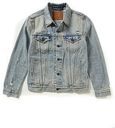 Levi's The Trucker Distressed Denim Jacket