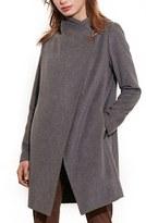 Lauren Ralph Lauren Women's Cutaway Wool Blend Coat
