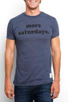 Original Retro Brand More Saturdays Short Sleeve Tee