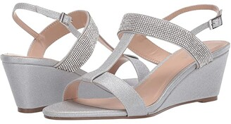 Paradox London Jacey (Silver) Women's Shoes