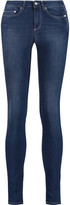 Acne Studios Pin Pure mid-rise skinny jeans