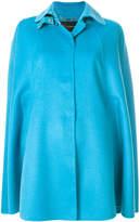 Versace oversized cape coat