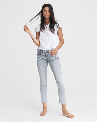 Rag & Bone Dre low-rise boyfriend - acid
