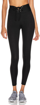 YEAR OF OURS Ribbed Football Legging in Black | FWRD