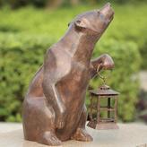Bear Statue with Lantern