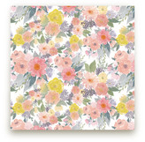 Minted Bold Watercolor Floral Fabric