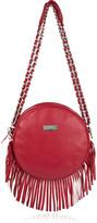 Meli Melo Bon Bon fringed leather shoulder bag