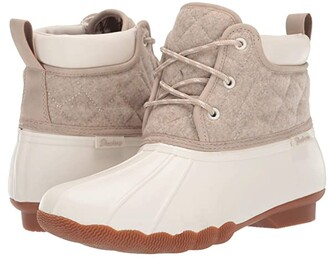 Skechers Pond - Lil Puddles (Natural/Tan) Women's Boots
