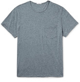 James Perse - Slim-fit Mélange Cotton-blend Jersey T-shirt