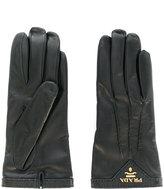 Prada logo gloves