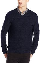 Calvin Klein Jeans Men's Texture V-Neck Sweater