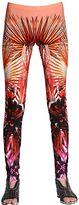Roberto Cavalli Printed Lycra Leggings