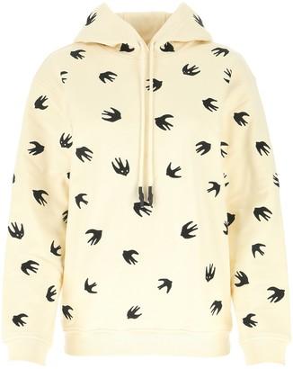 McQ Swallow Hooded Sweatshirt