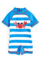 Little Me Infant Boy's Crab One-Piece Rashguard Swimsuit