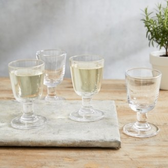The White Company Orford Small Wine Glass Set of 4, Clear, One Size