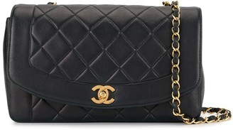 Chanel Pre-Owned Diana chain shoulder bag