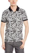 Calvin Klein Men's Short Sleeve Full Body Abstract