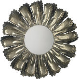 Jamie Young Raw Edge Sunburst Mirror, Silver