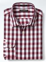 Banana Republic Grant-Fit Non-Iron Gingham Shirt
