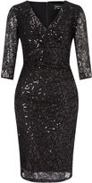 Ariella teresa short sequin cocktail dress