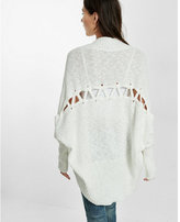 Express lace-up back cover up