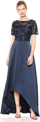 Adrianna Papell Women's Soutache Long Dress