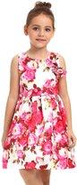 ephex Kid Girls Summer Dress with Floral Print 10-11T