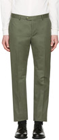 Éditions M.R Green Tailored Chino Trousers