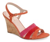 Kate Spade Women's Strappy Wedge Sandal