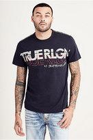 True Religion Retro Logo Mens Tee