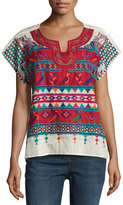 Raga The Cindy Embroidered Top, Multi